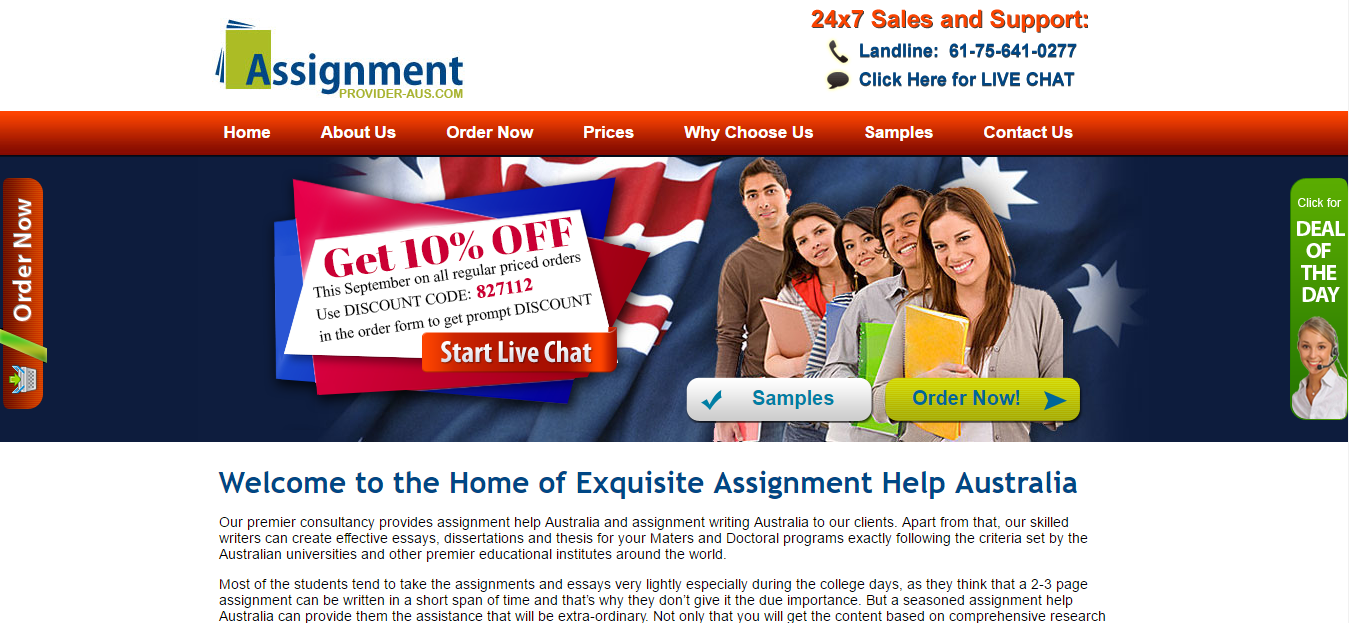 Assignment provider aus