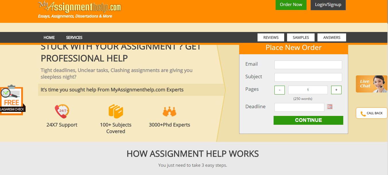 assignment help sydney page  myassignmenthelp com review